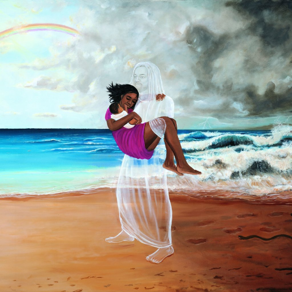 Footprints | Kolongi Brathwaite Art