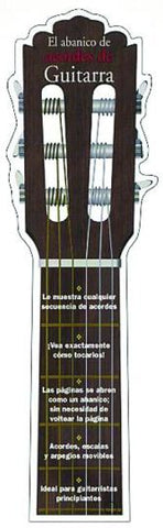 14000893 Hal El Abanico De Acordes De Guitarra - Hal The Fan Of Guitar Chords