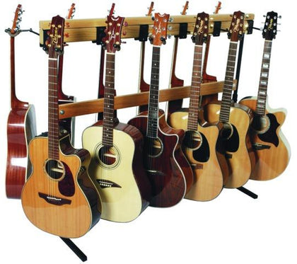 Hardwood Electric Guitar Rack Adjustable