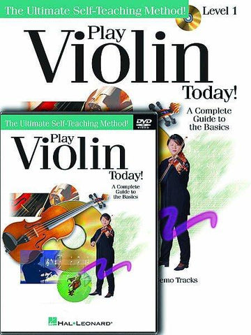 Play Violin Today Pack CD/DVD