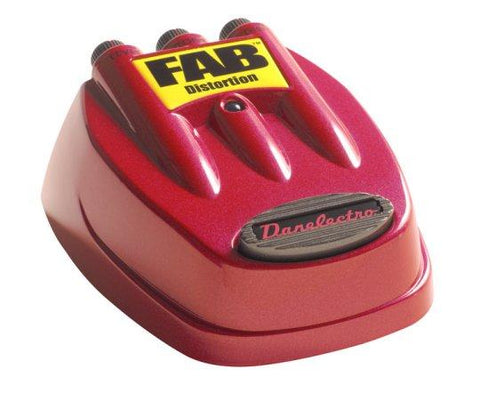 D1 Danelectro FAB Distortion Effects Pedal