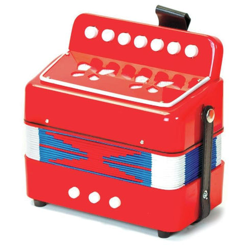 M&M 103A-RD Child Size Accordion Red