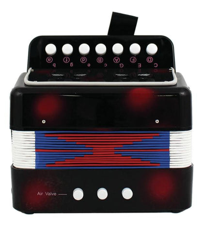 M&M 103A-BRD Accordion Child Size Black & Red
