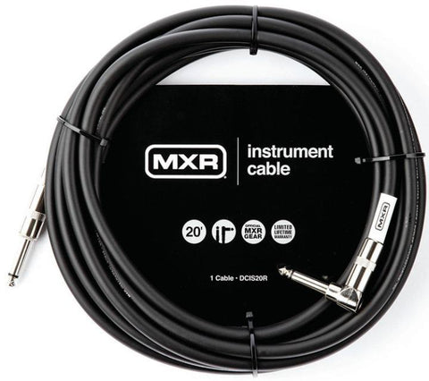 DUN-DCIS20R MXR  DCIS20R Instrument Cable Right Angle 20'