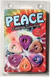 1PICKPEACE01-N Peace 6 pack with necklace