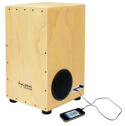 Tycoon TKPC-29 29 29 Siam Oak Amplified Practice Cajon