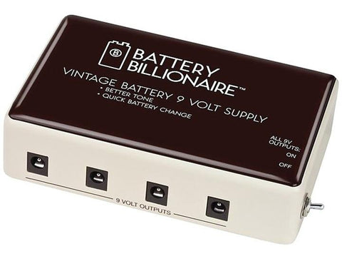 BAT1 Danelectro Battery Billionaire Vintage 9 Volt Power Supply