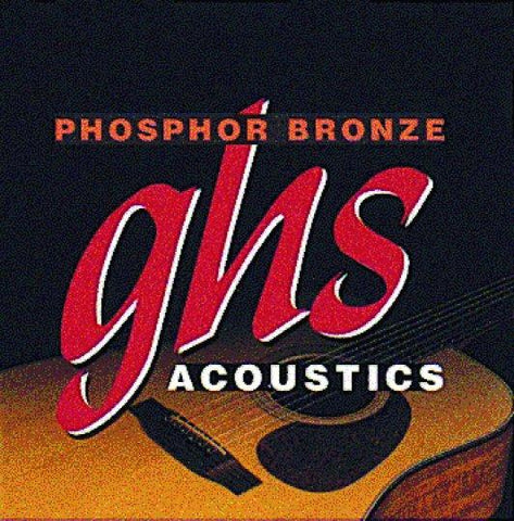 S335 GHS Phosphor Bronze Medium Acoustic Guitar Strings