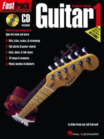 697282 Hal Leonard Fast Track Guitar Method I Book 1