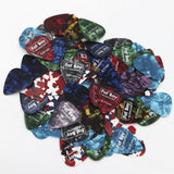 FBP100 Fat Boy Celluloid Picks 0.46 - 0.81mm 100-Pieces
