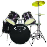 "GP100B GP Percussion ""Player"" 5 Piece Full Size Drum Set"