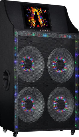 "MPD450AD Max Power 15"" X 4 Woofer with Full 15"" Touch screen Wi-Fi & Mirror Function"