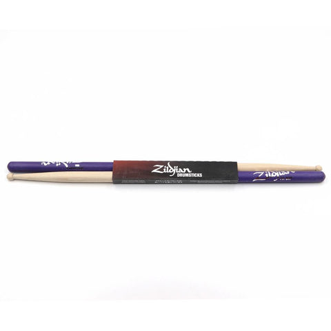 SDB7AWP Zildjian 7A Purple Dip Wood Tip Drumsticks
