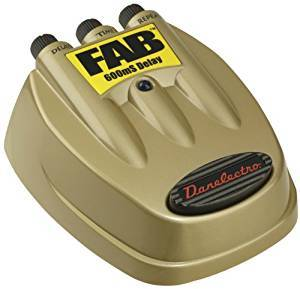 D8 Danelectro Fab 600mS Delay Gold