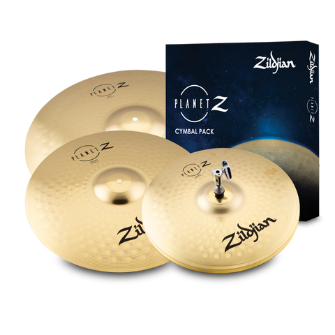 "ZP4PK  Planet Z Complete Pack 4 Cymbal Pack  14""-16""- 20"""