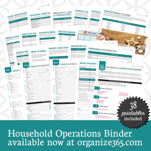 Household Operations Binder - International