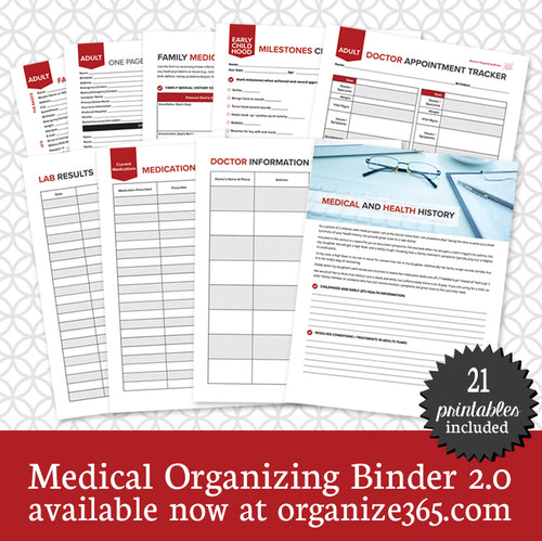 Medical Organizing Binder - International