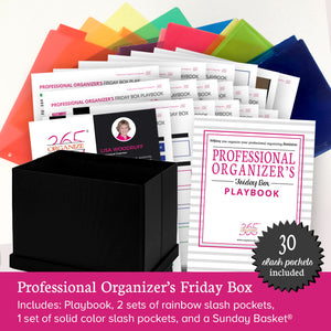 Professional Organizer Friday Box