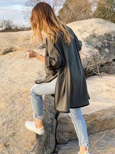 Elly Smock Tunic// Army Green