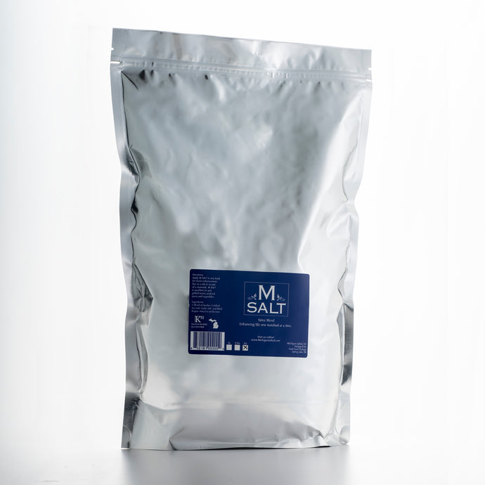 M SALT | 5 Pound Refill Bag - Michigan Salted, LLC
