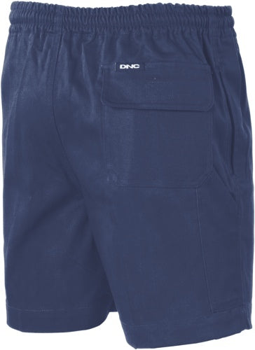 311GSM COTTON DRILL SHORTS W/TOOL POCKET