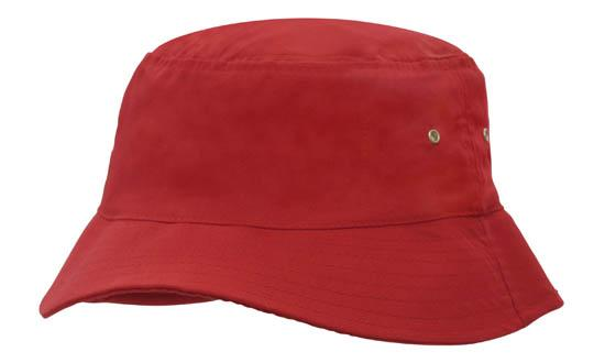 DHS Great Vic Bike Ride Hat - RED