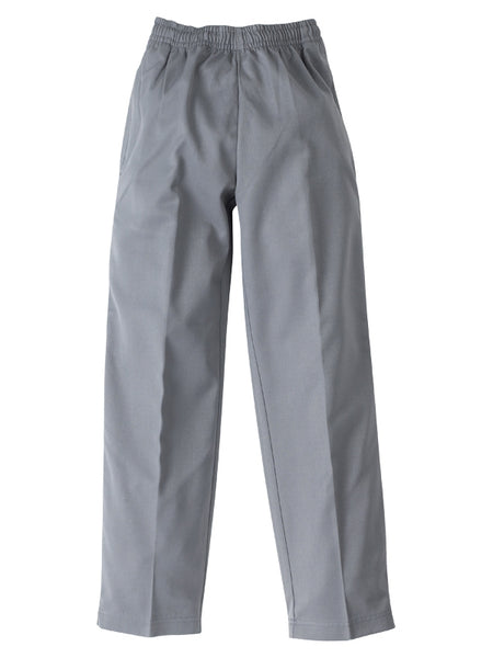 Midford Boys Basic School Pants - full elastic waist