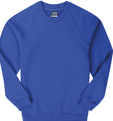 Midford tracksuit Crew Neck Jumper- Deniliquin Nth Primary - NAVY