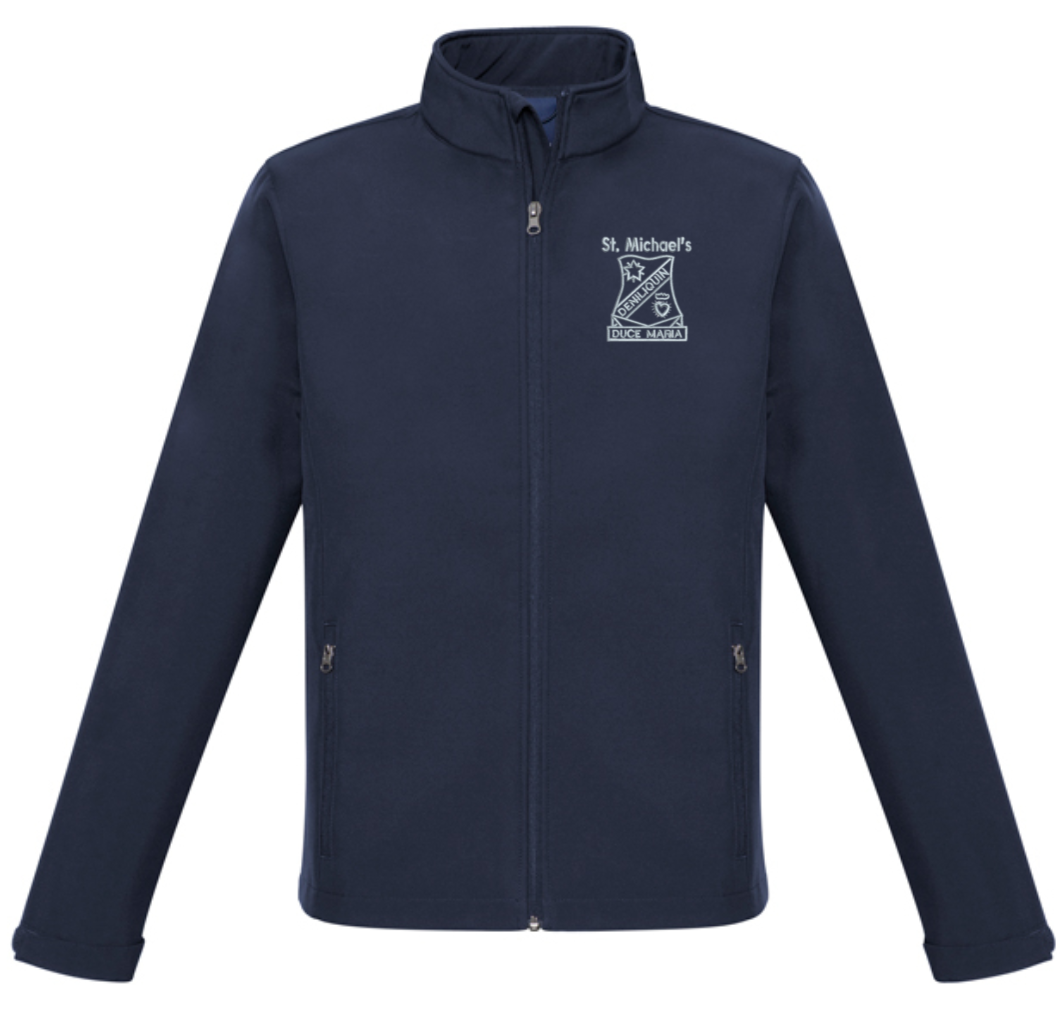 Soft Shell Jacket Mens - St Michael's Primary School