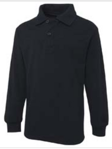JB's Wear Long Sleeve Polo - MAYRUNG - Navy
