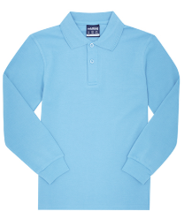 Midford Kids Long Sleeve Polo - Deniliquin Nth Primary