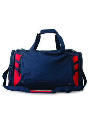 Tasman Sports Bag ( embroidered )