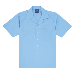 Midford Boys Short Sleeve Open Neck Shirt - Deniliquin Nth Primary