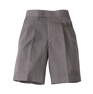 Boys Basic elastic back school shorts - Midford/Scags - St Michael's Primary School