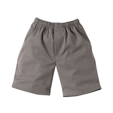 Boys Basic full elastic school shorts - Midford / Scags- St Michael's Primary School
