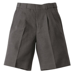 Boys Melange Extendable School Shorts -SHOM155