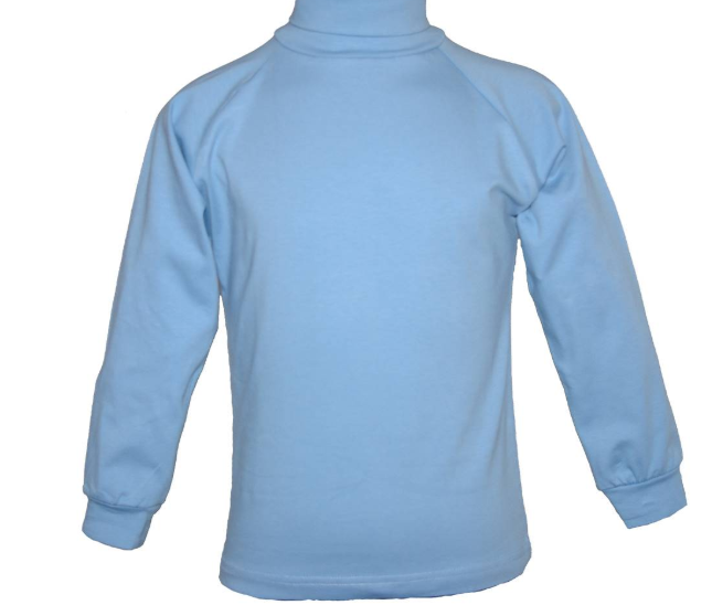 Scags Skivvy - Deniliquin Nth Primary - Light Blue