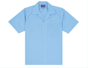 Midford Boys Short Sleeve Open Neck Shirt