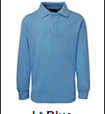 JB's Wear Kids Long Sleeve Polo