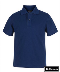 JB's Wear Kids Short Sleeve Polo - MAYRUNG PUBLIC SCHOOL - Navy