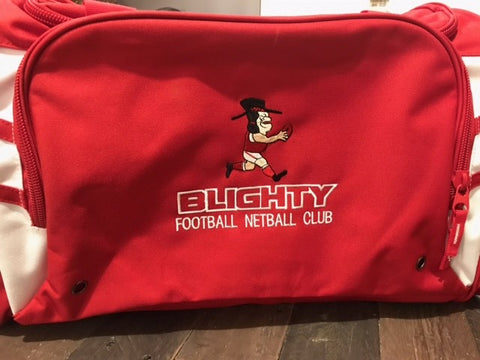 Blighty FOOTBALL Club Bag ( embroidered )