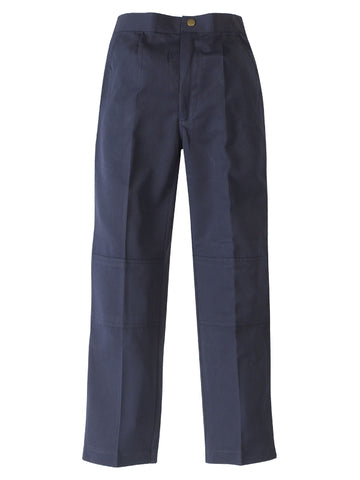 Midford Boys Elastic Back  Double Knee School Pants