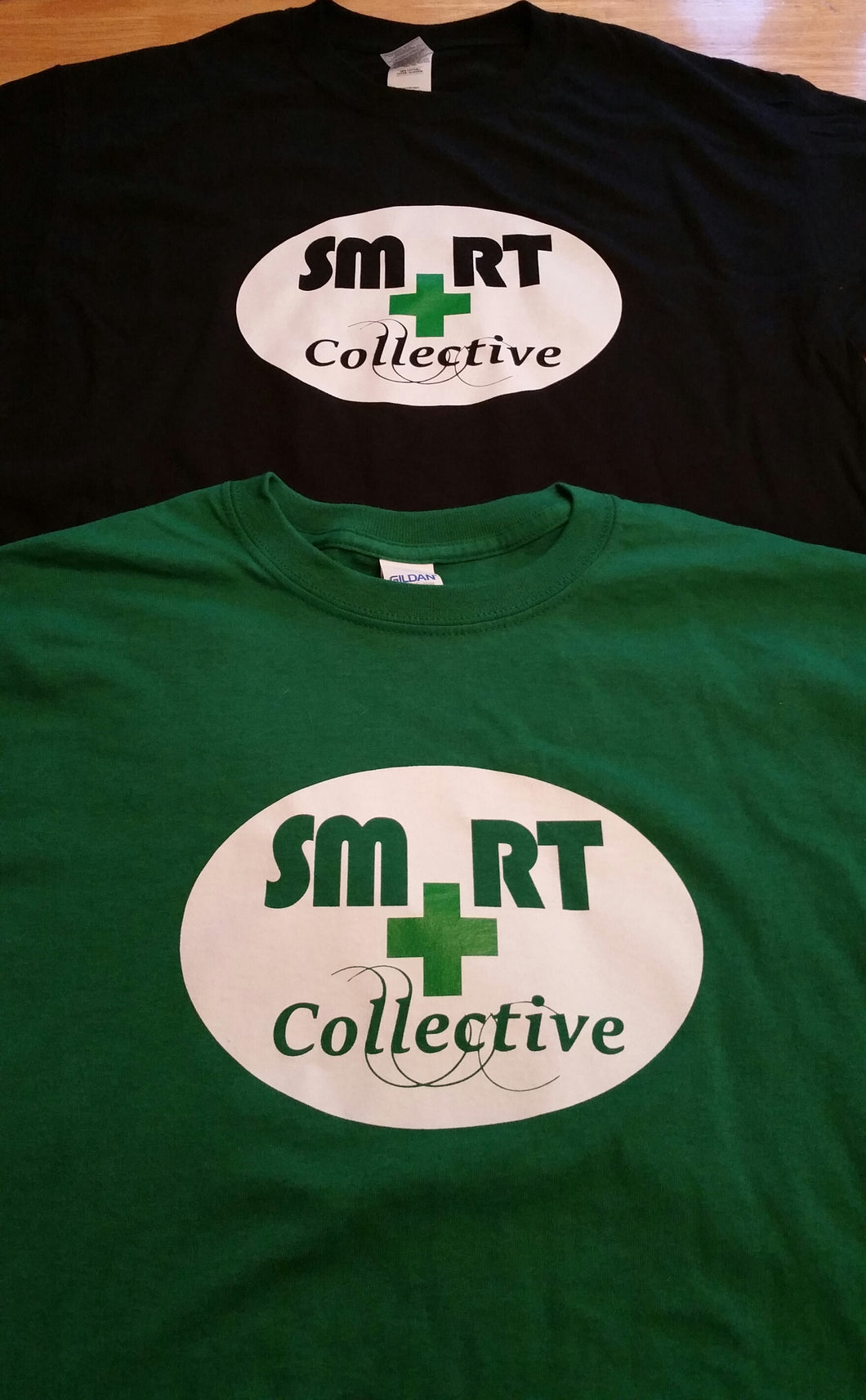 NEW SMRT Collective   T-Shirts! $20 donation includes shipping!