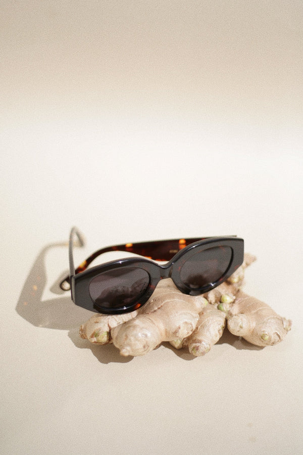 STESSO Sunglasses - Dark Tort