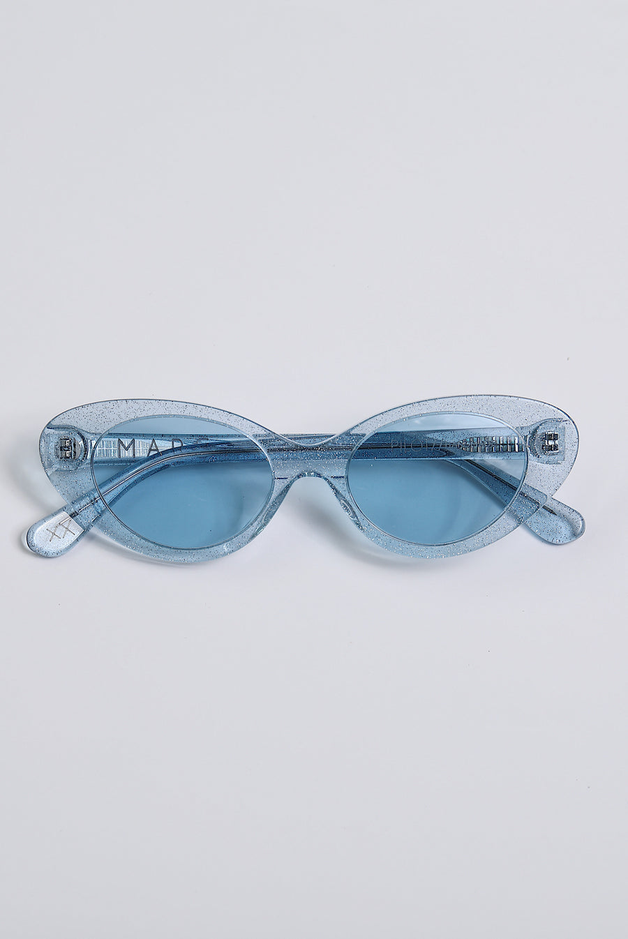 PILOT SUNGLASSES - Blue Sparkle