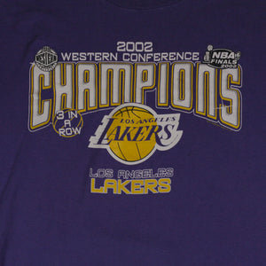 """2002 Lakers Western Conference"" Limited Edition T-Shirt"