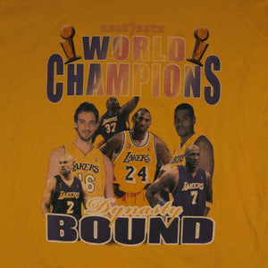 """Back 2 Back Lakers"" Limited Edition Vintage T-Shirt"