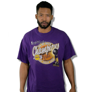 """2010 NBA Champions Purp"" Limited Edition T-Shirt"