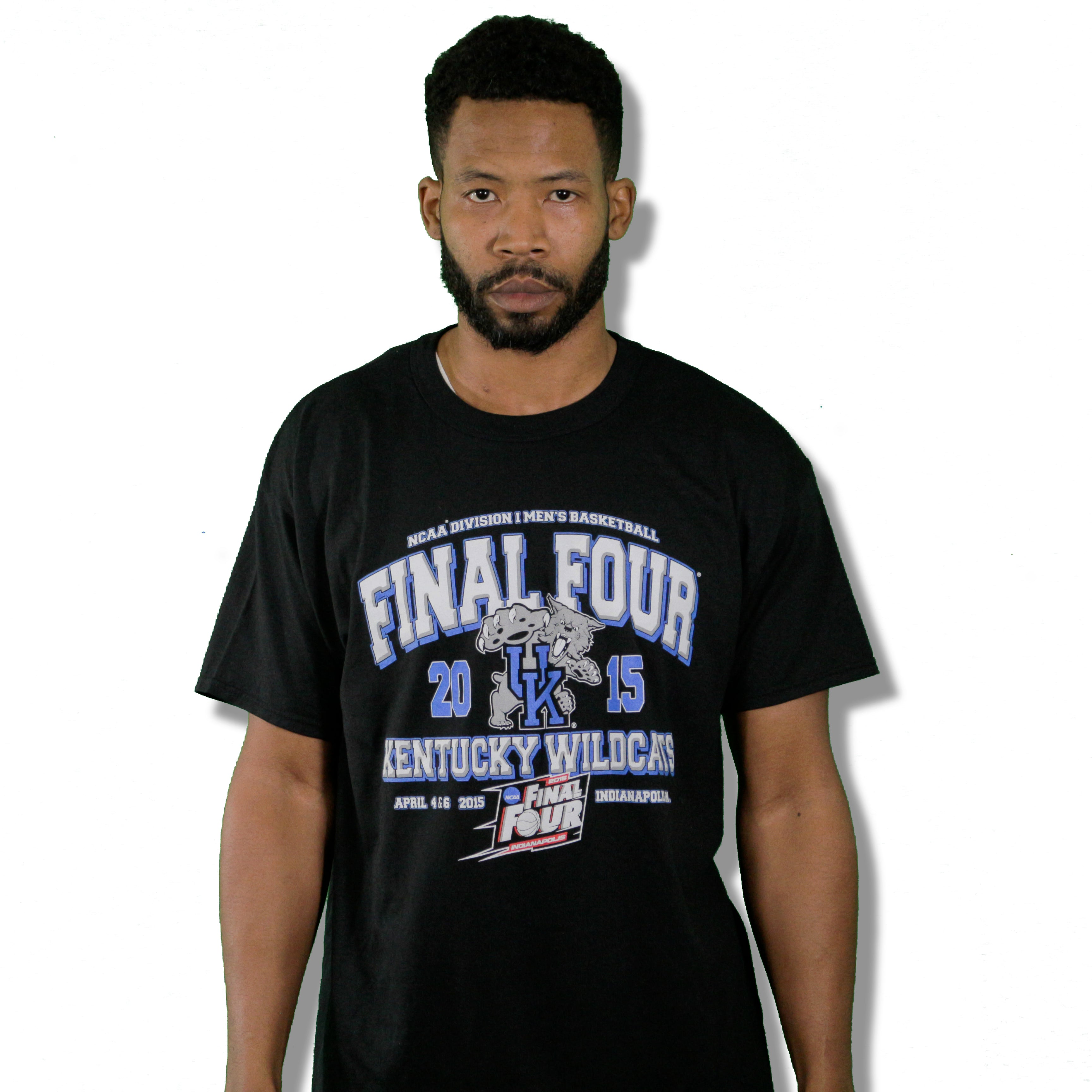 """Kentucky 2015 Final Four"" Limited Edition Vintage T-Shirt"