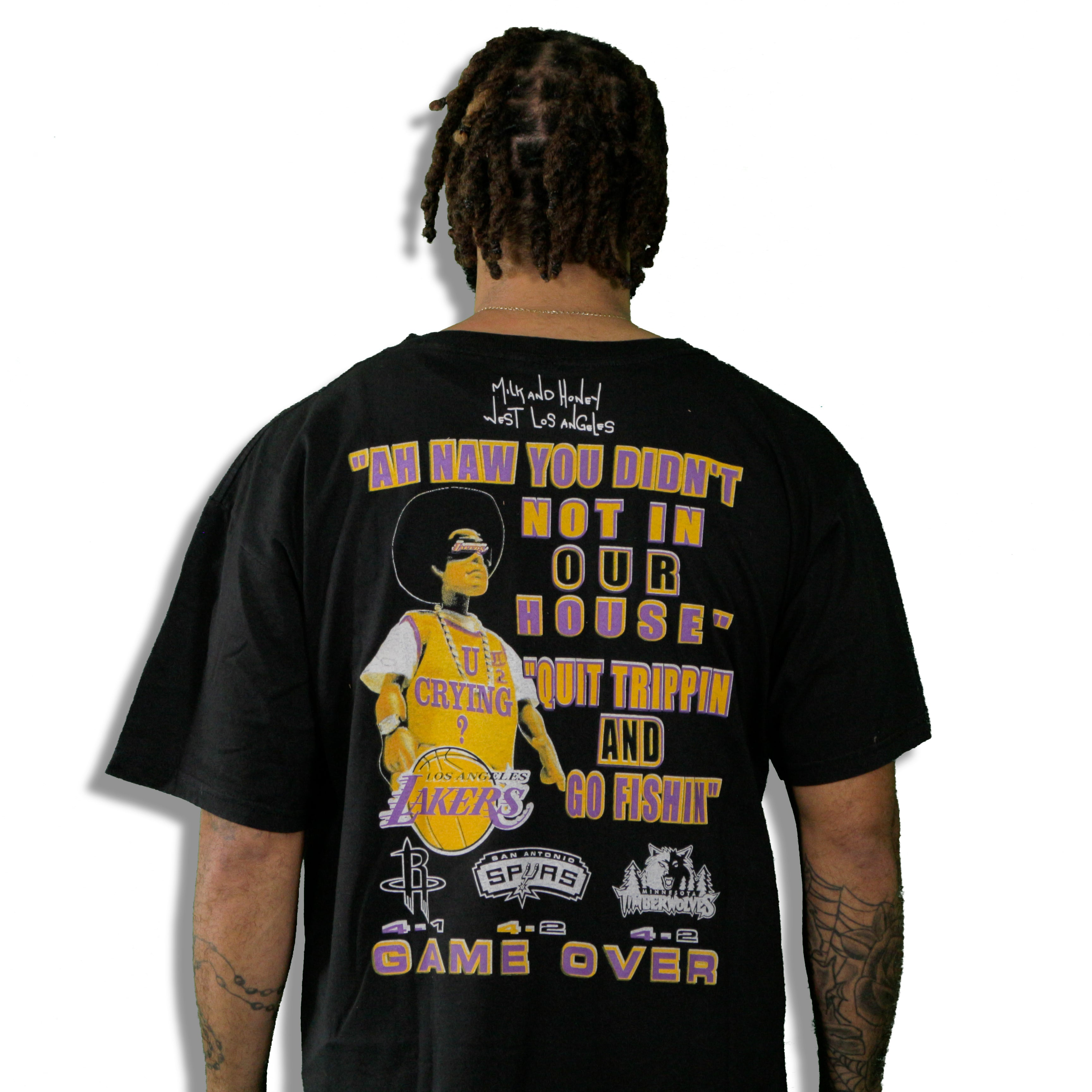 """2004 Lakers Western Conference"" Limited Edition Vintage T-Shirt"